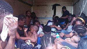 Dilovası'nda 35 göçmen yakalandı