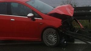 Dilovası'nda trafiği kilitleyen kaza