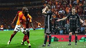 Galatasaray derbiden  lider çıktı