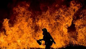 Gebze'de depo yangını