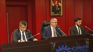 Gebze'de Mayıs ayı meclisinin ilk oturumu yapıldı