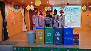 Gebze'deki okullarda geri dönüşüm eğitimi