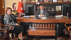 Gönül'den Başkan Şayir'e ziyaret