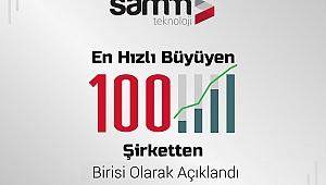 GOSB katılımcılarından SAMM Teknoloji, ilk 100'e girdi
