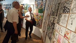 Güzel Sanatlardan etkileyici yıl sonu sergisi
