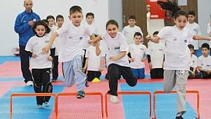 Haydi öğrenciler Ücretsiz Spor Okulları'na