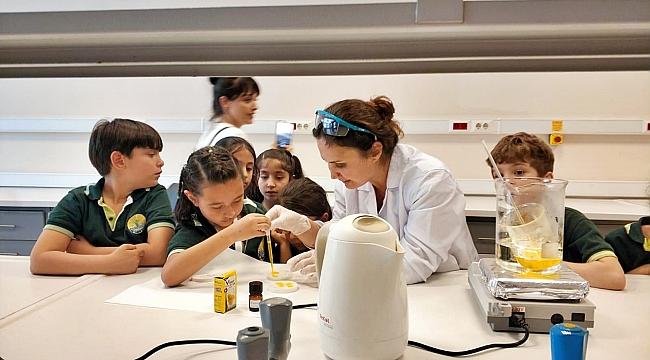 İlkokul öğrencileri GTÜ laboratuvarında sabun üretti