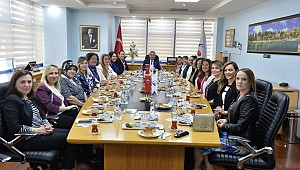 Kadın Girişimciler, Oda başkanlarını ziyaret etti