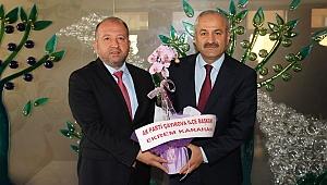 Karahan'dan başkanlara 'Hayırlı olsun' ziyareti