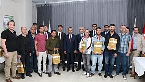 Kocaeli'de yükümlüler bilgi yarışmasında yarıştı
