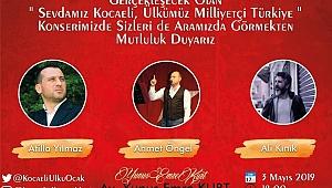 Kocaeli Ülkü Ocakları, Milliyetçiler Gününü konserle kutluyor