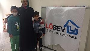LÖSEV, Gebze'de yardımlarını sürdürüyor