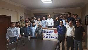 MHP Çayırova'da değerlendirme toplantısı
