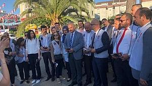 MHP Kocaeli teşkilatları Tuzla'da sahaya indi