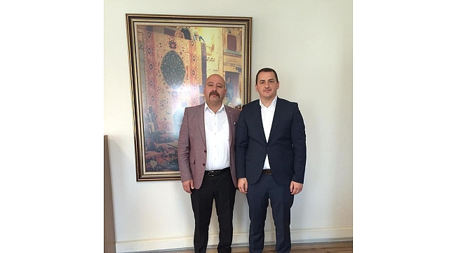 MHP'li Aygün'den Şentürk'e ziyaret