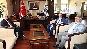 Başkan Büyükgöz, Şener Söğüt'ü ağırladı