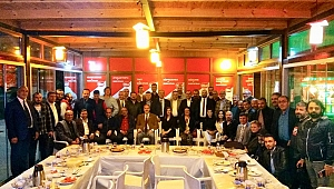 TGF ilk iftarı Gebze'deki meslektaşlarıyla açtı
