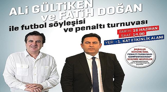 Ali Gültiken ve Fatih Doğan, Gebze'de