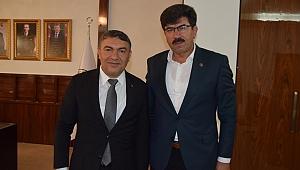 Bingöllü Başkan, Şayir'i ziyarete geldi