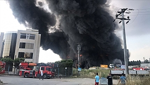Çayırova'da fabrika ve depo yangını: 5 ölü