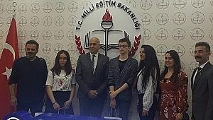 Çayırovalı Büşra, Türkiye üçüncüsü oldu