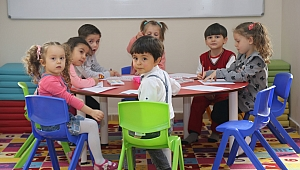 Çocuk oyun odalarından binlerce çocuk yararlandı