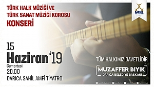 Darıca Belediyesinden konsere davet