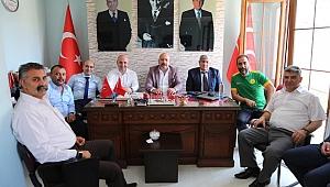 Darıca'da Cumhur İttifakı bayramlaştı