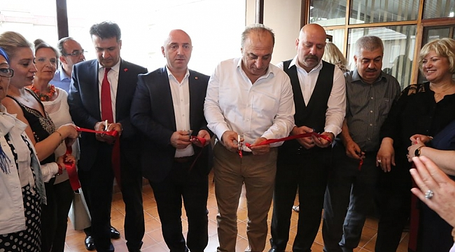 Darıca'da el işi ve nakış sergisi açıldı
