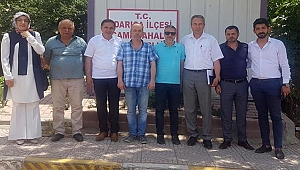 CHP'li Meclis Üyeleri muhtarlara gitti
