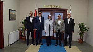 Eski Vekil Başkan Şayir'i ziyaret etti