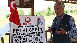 Fethi Sekin'in babası:'Oğlum bana gelemedi ben oğluma geldim'