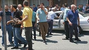 Gebze'de ehliyetsiz sürücü, anne ve bebeğine çarptı