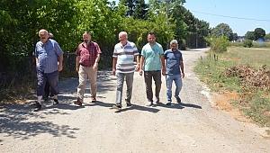 Gebze'de mahalle halkının yol isteği