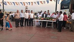 Karahan ekibiyle Tuzla'da stant açtı
