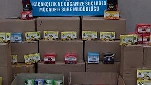 Kocaeli'de sigara kaçakçılarına ağır darbe!