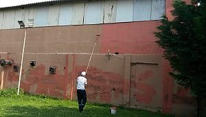 Kocaeli Fuarı'nda temizlik ve onarım çalışması yapıldı