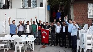 MHP Gebze, Mehmetçikleri uğurladı