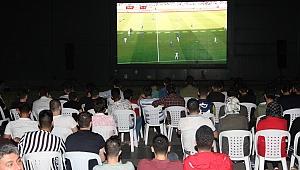 Milli maç heyecanı K@bin'de yaşandı