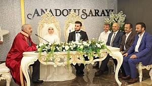 Necati Korkmaz oğlunu evlendirdi