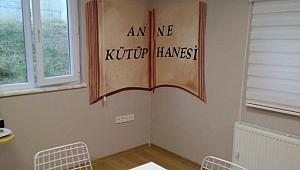 Okuma sanatından Dilovası'na anne kütüphanesi