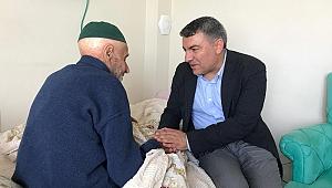 Şayir'den bayramda hasta ziyaretleri