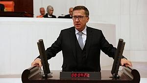 Türkkan mecliste Ballıkayalar için konuştu