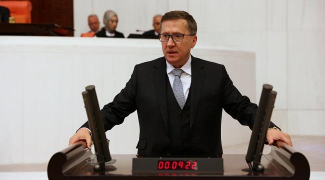 Türkkan mecliste sert konuştu
