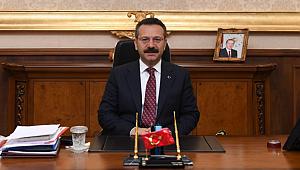 Vali Aksoy'dan eğitim öğretim yıl sonu mesajı