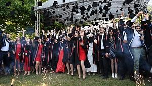 Vali Aksoy, GTÜ törenine katıldı