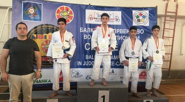 Yıldız judocular Balkanlardan 4 madalya ile döndü