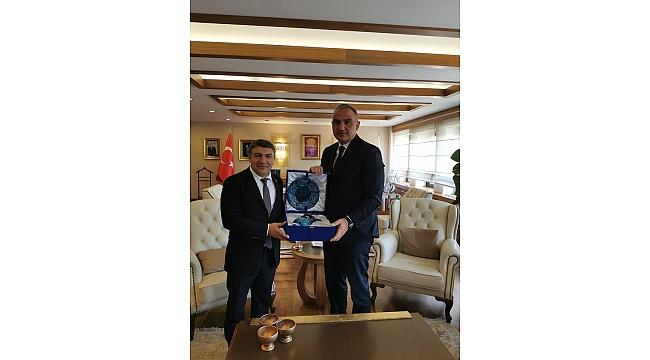 Başkan Şayir Dilovası için Ankara'da!