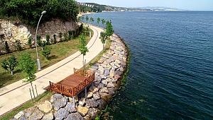 Bu sahil parkı Darıca'nın  cazibe merkezi olacak