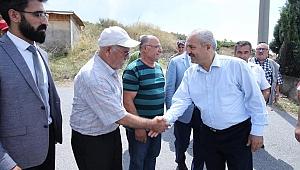 Büyükgöz Cemevini ziyaret etti